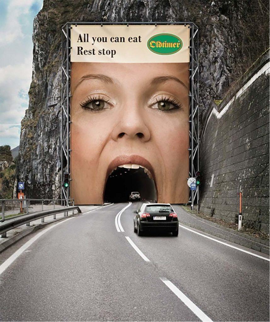 Creative billboard advertising examples