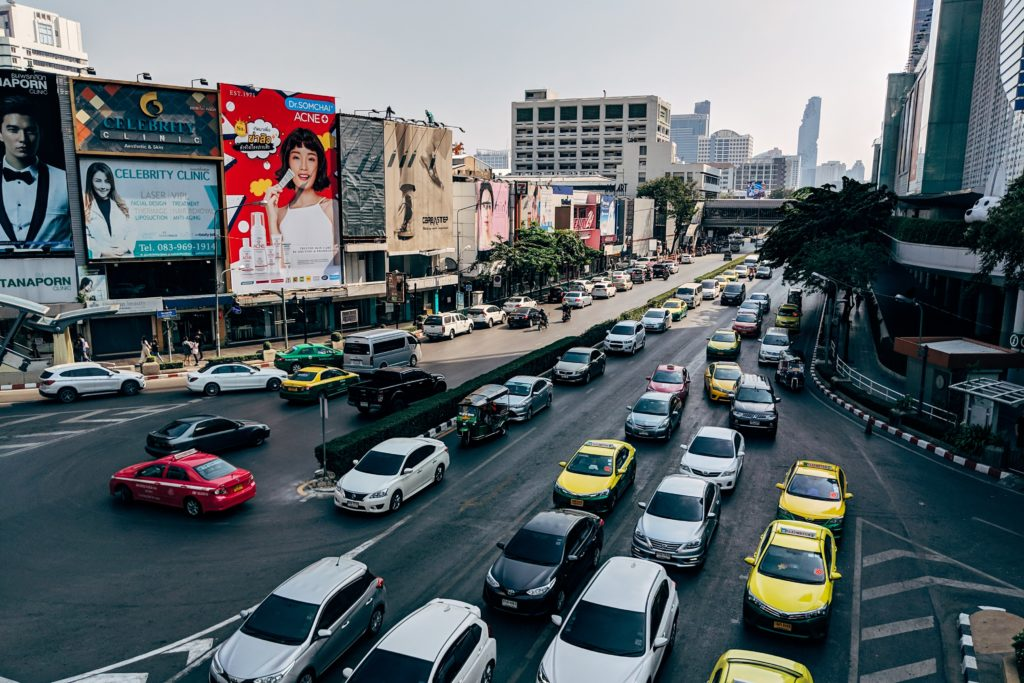 Programmatic advertising spend - digital out of home advertising traffic city